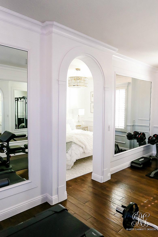 Glam Home Gym Reveal