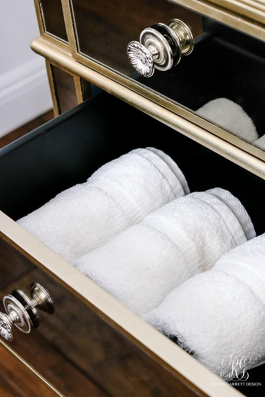 gym towel storage