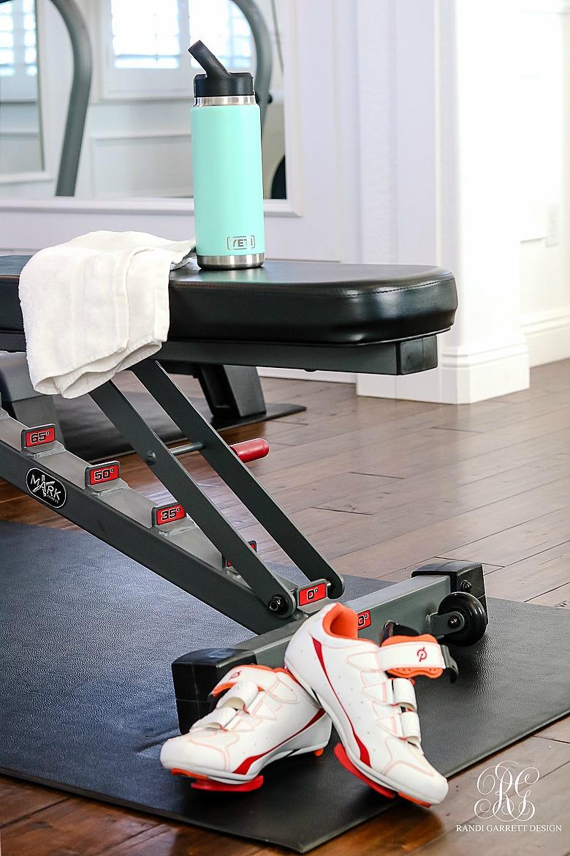 glam gym equipment