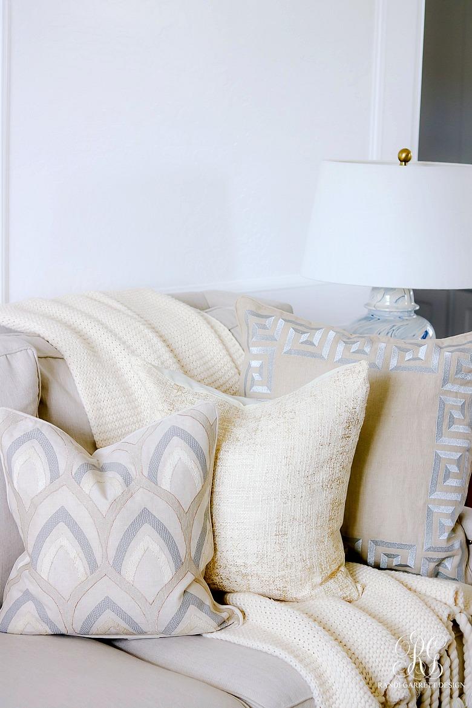 gorgeous spring pillows