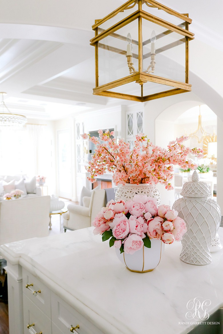 pink peony arrangement spring floral ideas