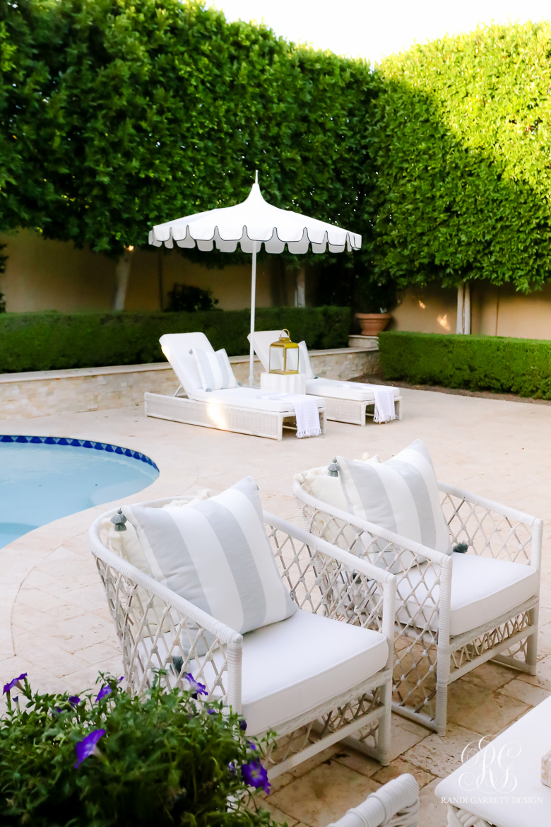 beautiful backyard -Must Have Outdoor Pieces for Summer Entertaining