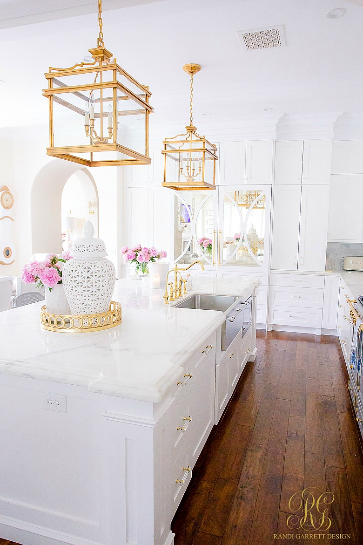 elegant white kitchen