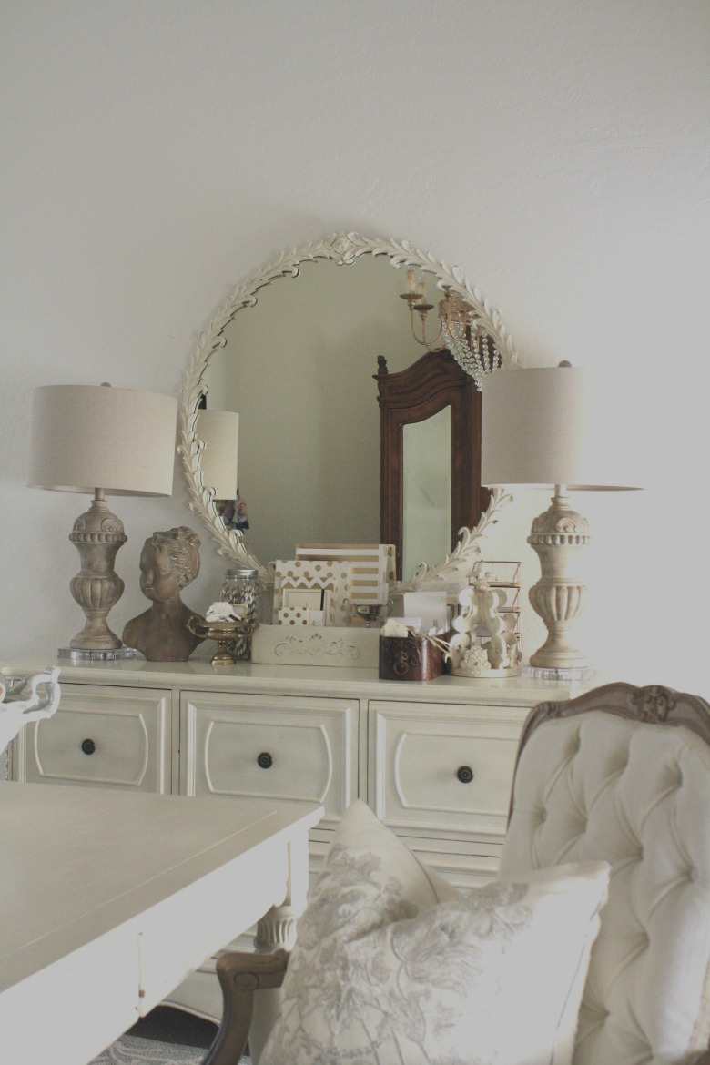Glam Transitional Home Office