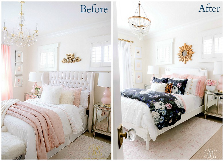 Girly Teen Bedroom Makeover Randi Garrett Design