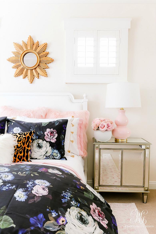 girly teen bedroom makeover  randi garrett design