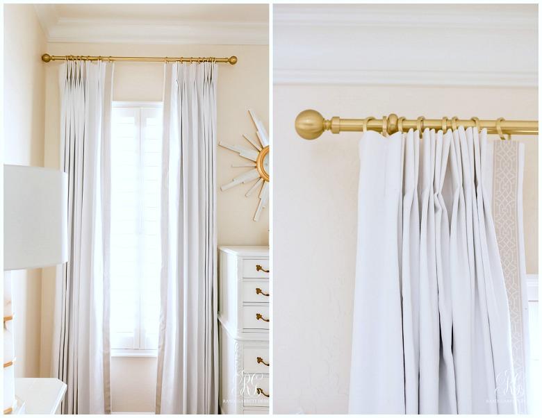 custom linen drapes