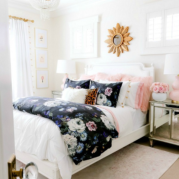 Girly Teen Bedroom Makeover