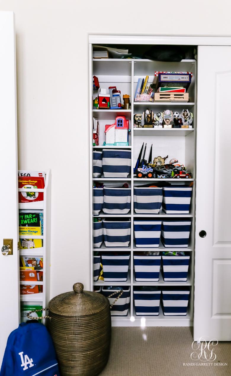 toy organizing