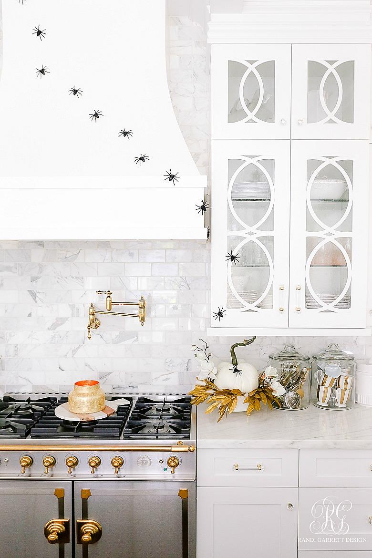 white kitchen spiders climbing walls
