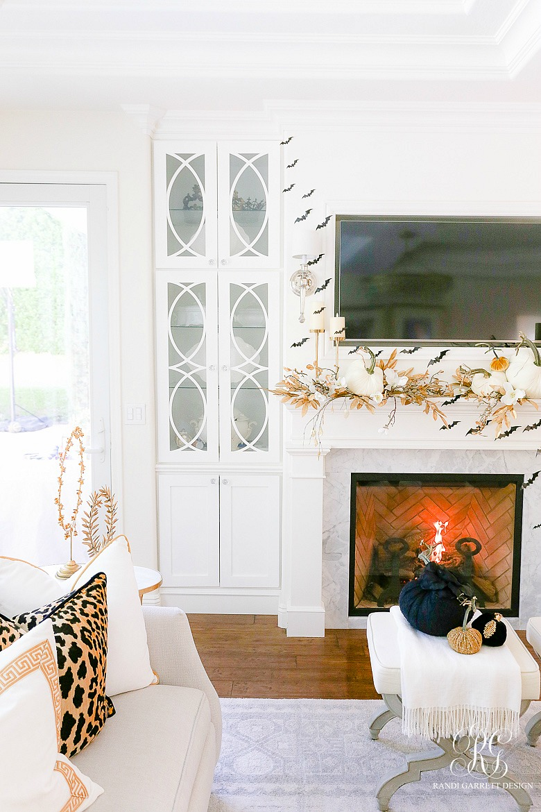 Glam Gold Halloween Home Tour