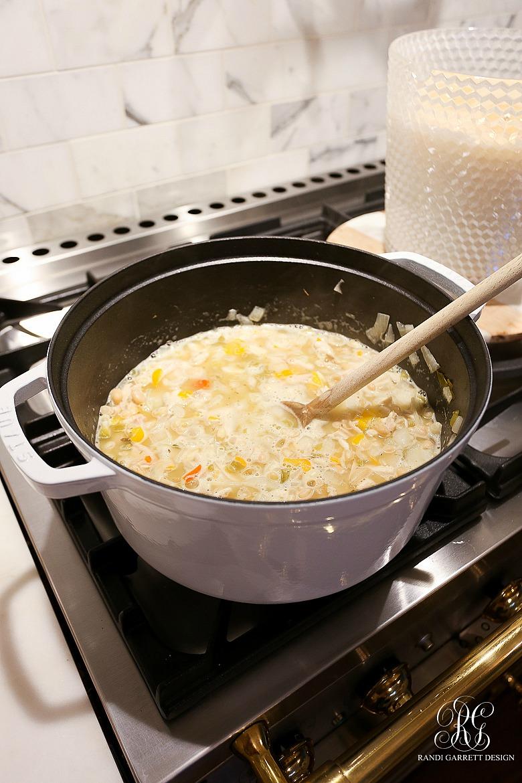 Randi Garrett's White Chicken Chili Recipe