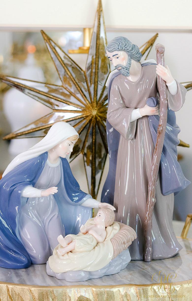 elegant christmas nativity