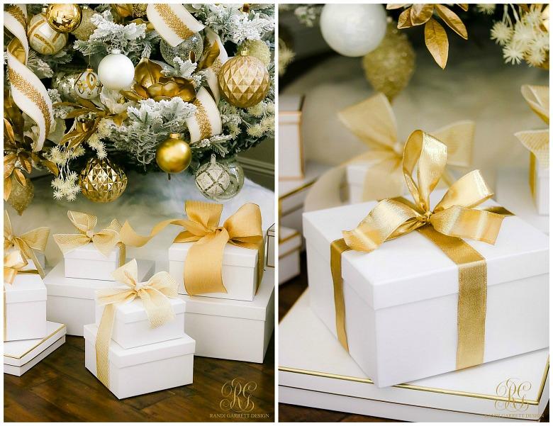 white gold gift boxes