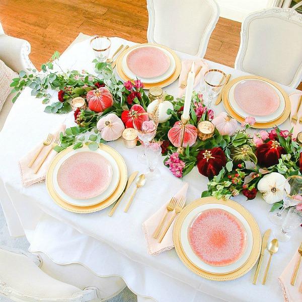 My Thanksgiving Menu + Table Ideas
