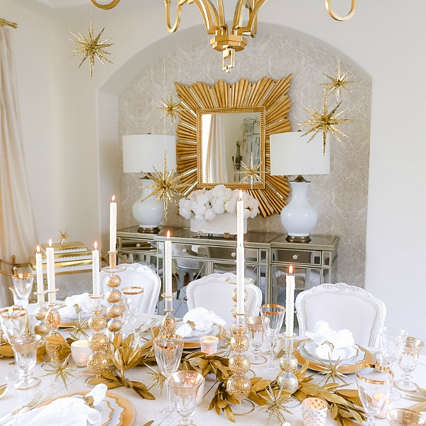 Christmas Dining Room – Oh Holy Night Table