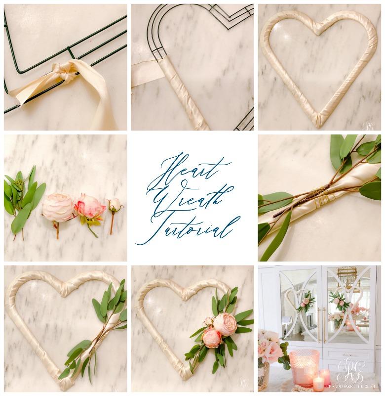 Valentine's Day Heart Wreath Tutorial