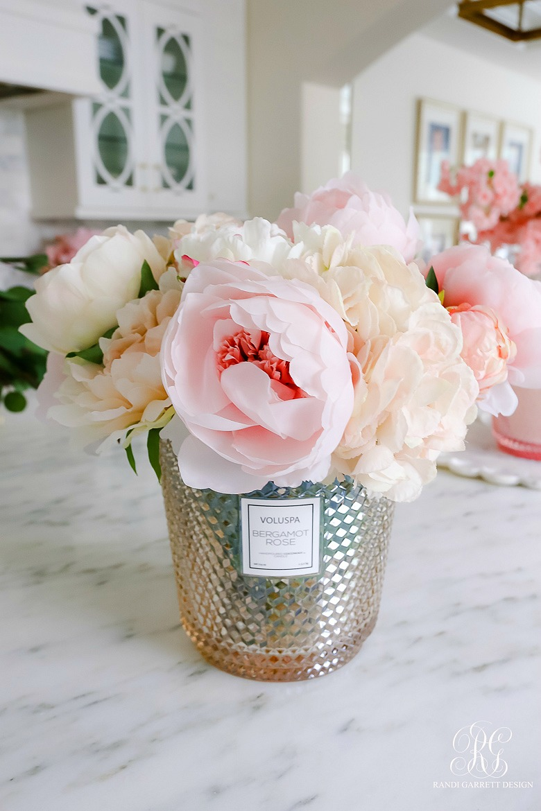 How to Make Simple Valentine's Day Faux Floral Arrangements