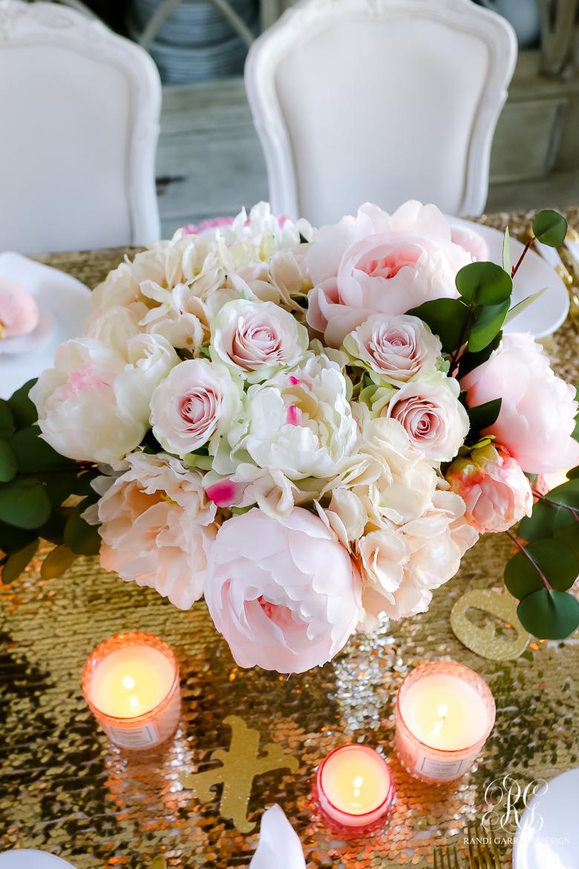 Pink Peony Valentine's Day arrangement