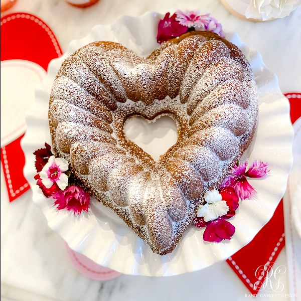 Heart Pound Cake Recipe