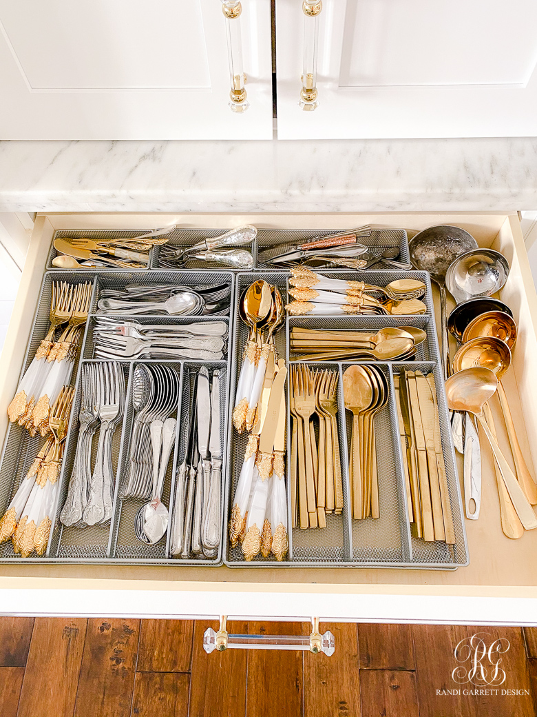 silverware drawer organizing ideas