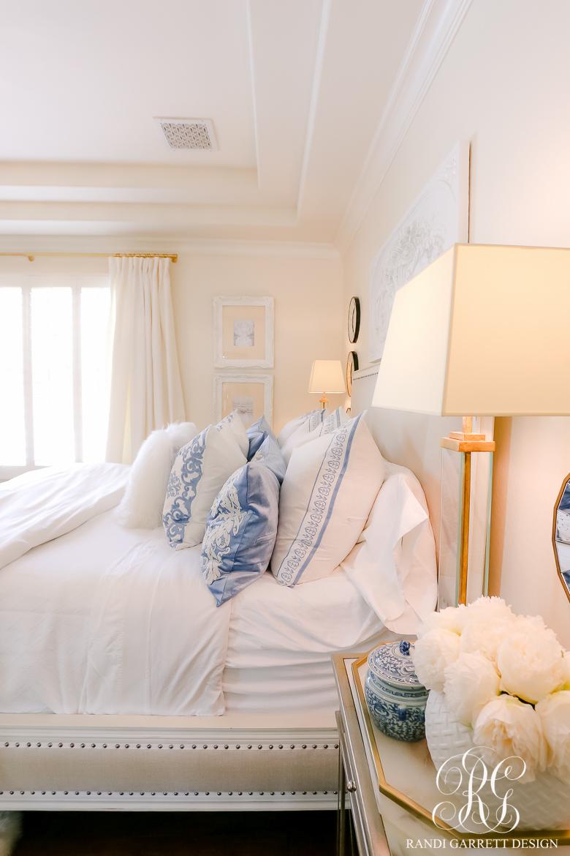 French Blue And White Spring Bedroom Randi Garrett Design