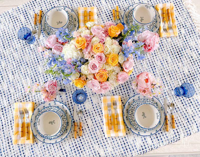 Cheery Spring Table