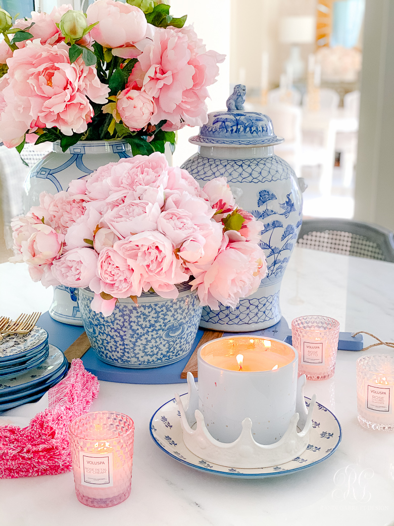 Southern Charm Inspired Spring Home Tour spring vignette
