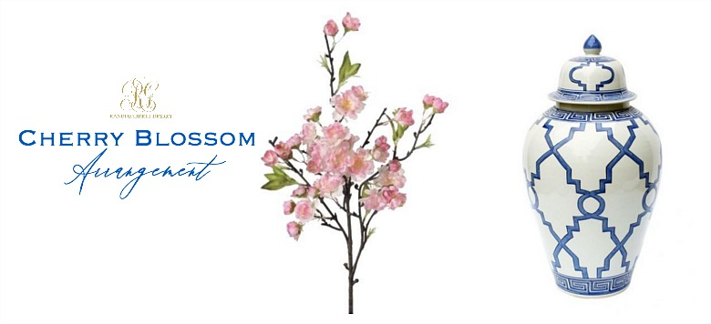 cherry blossoms arrangement