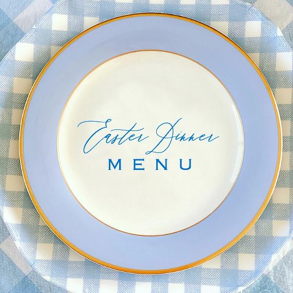 Easter Dinner Menu + Recipes