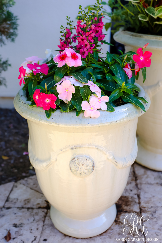 Pretty Spring Planters anduze pots