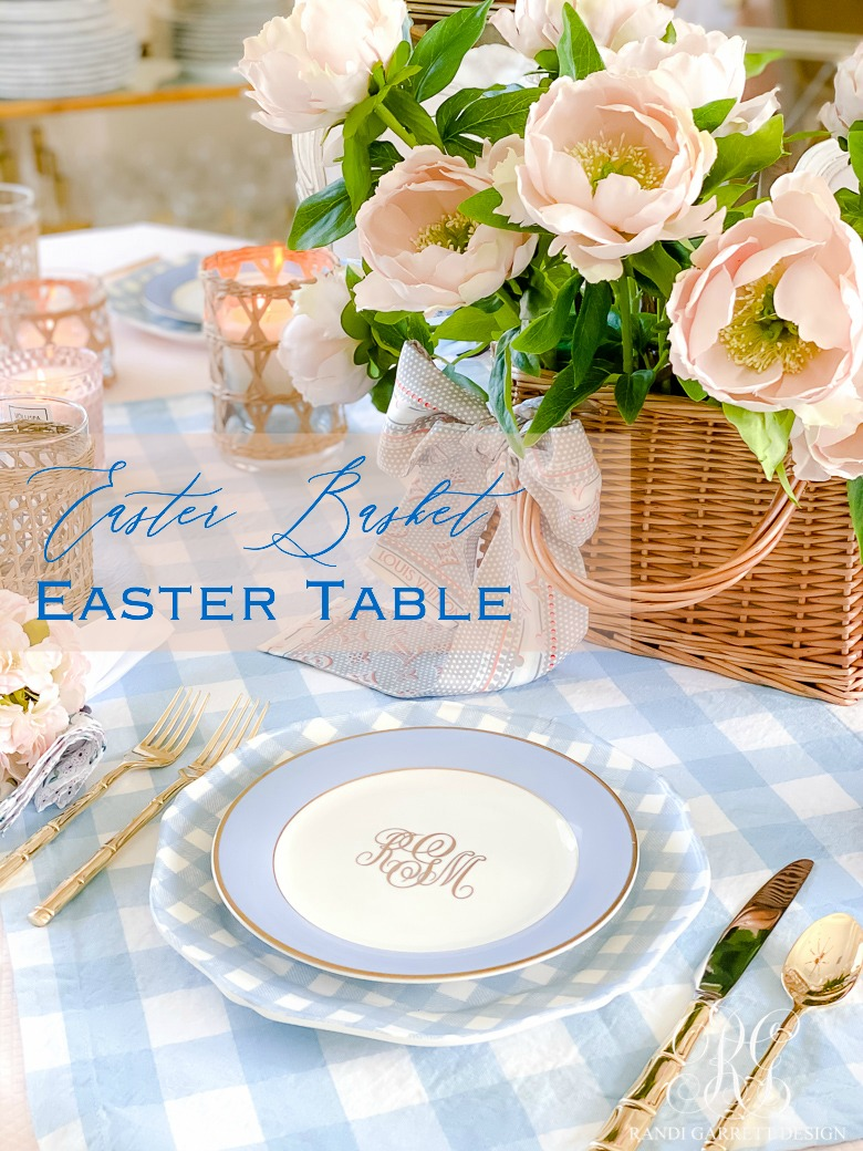 Easter Basket Easter Table