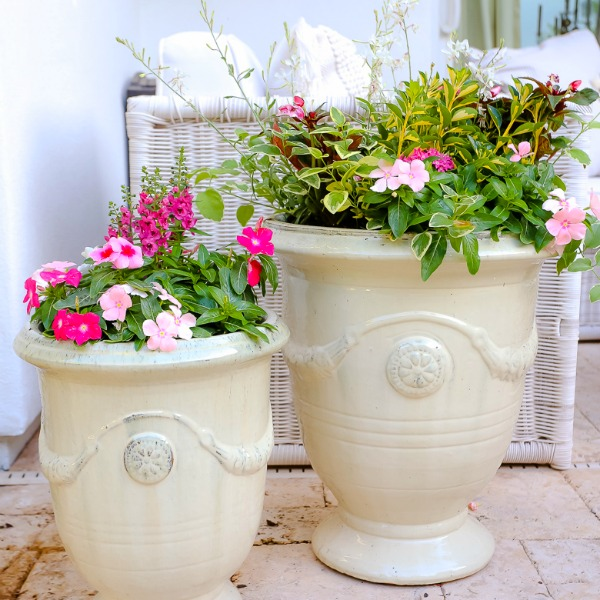Pretty Spring Planters
