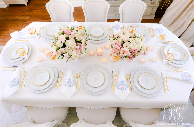 gorgeous spring table setting