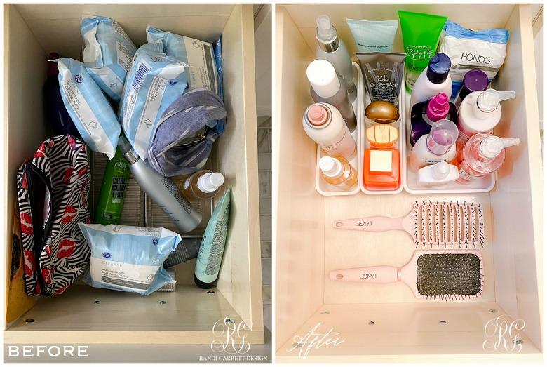 Easy Bathroom Organizing Projects
