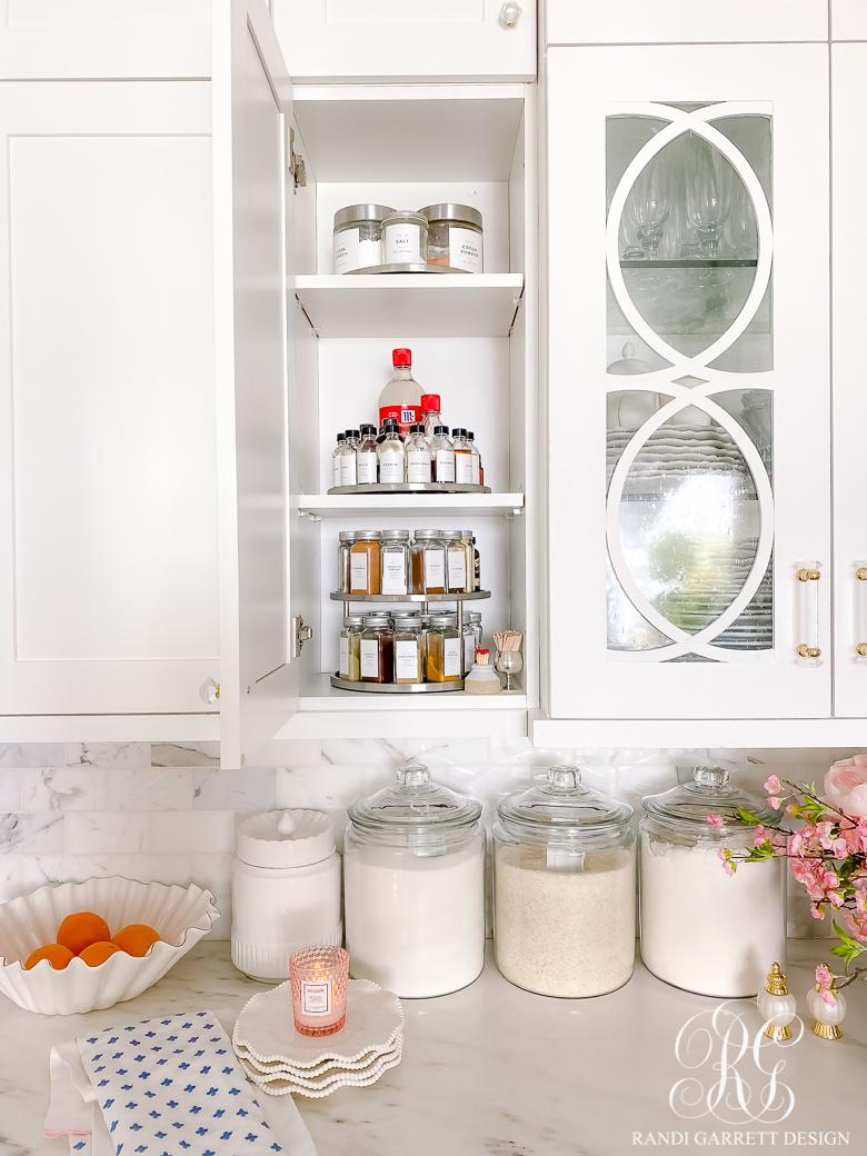 Spice Cabinet Organization Ideas