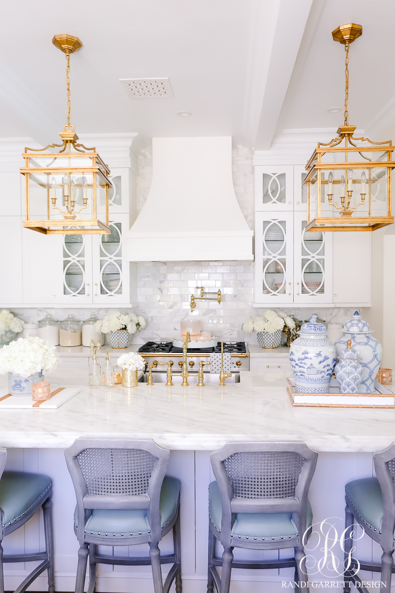 Summer Styling Tips + Home Tour white kitchen