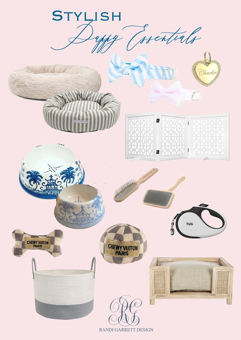 Stylish Puppy Essentials