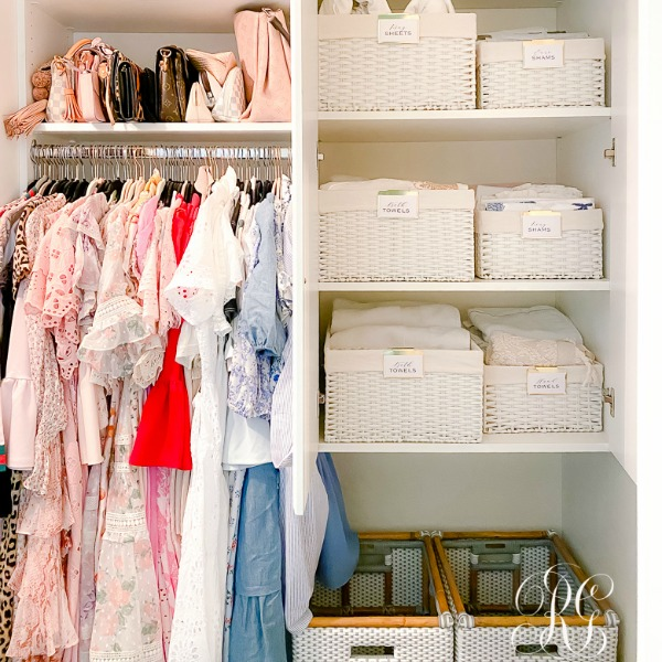 Simple Closet Organizing Ideas