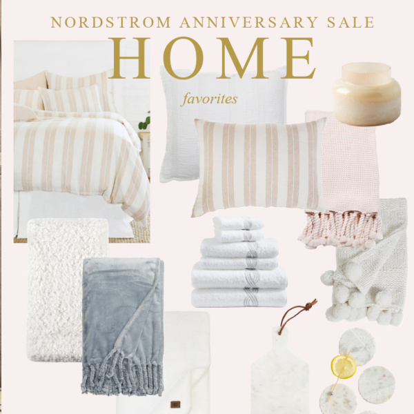 Girlfriend's Guide Nordstrom Anniversary Sale -Home Favorites