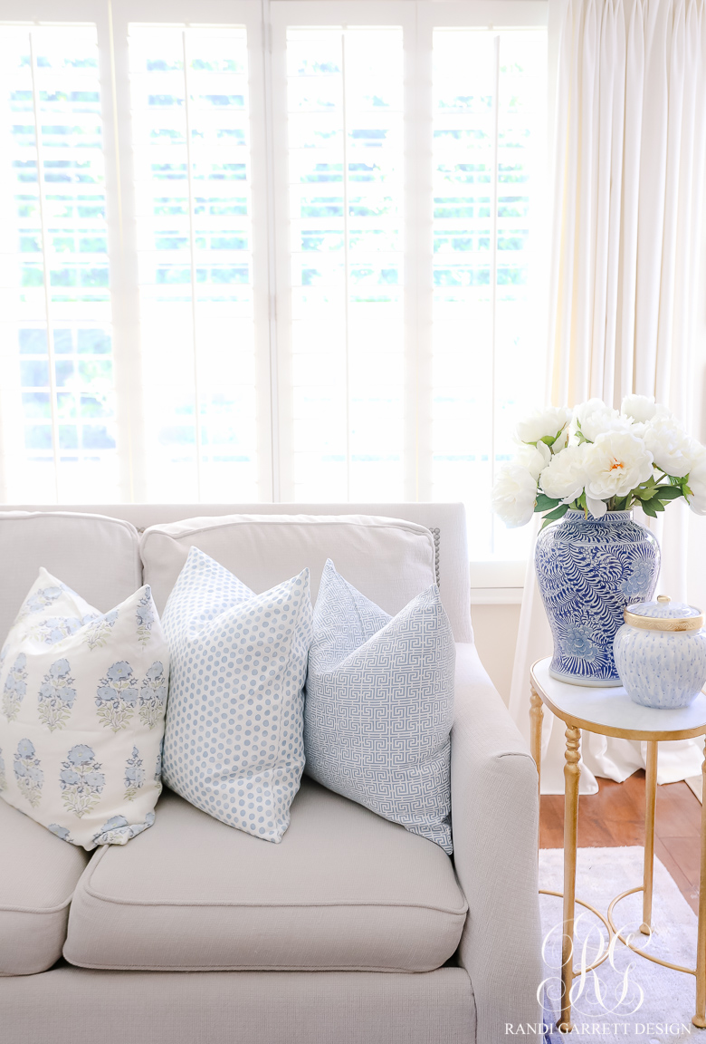 Favorite Throw Pillows + Styling Tips