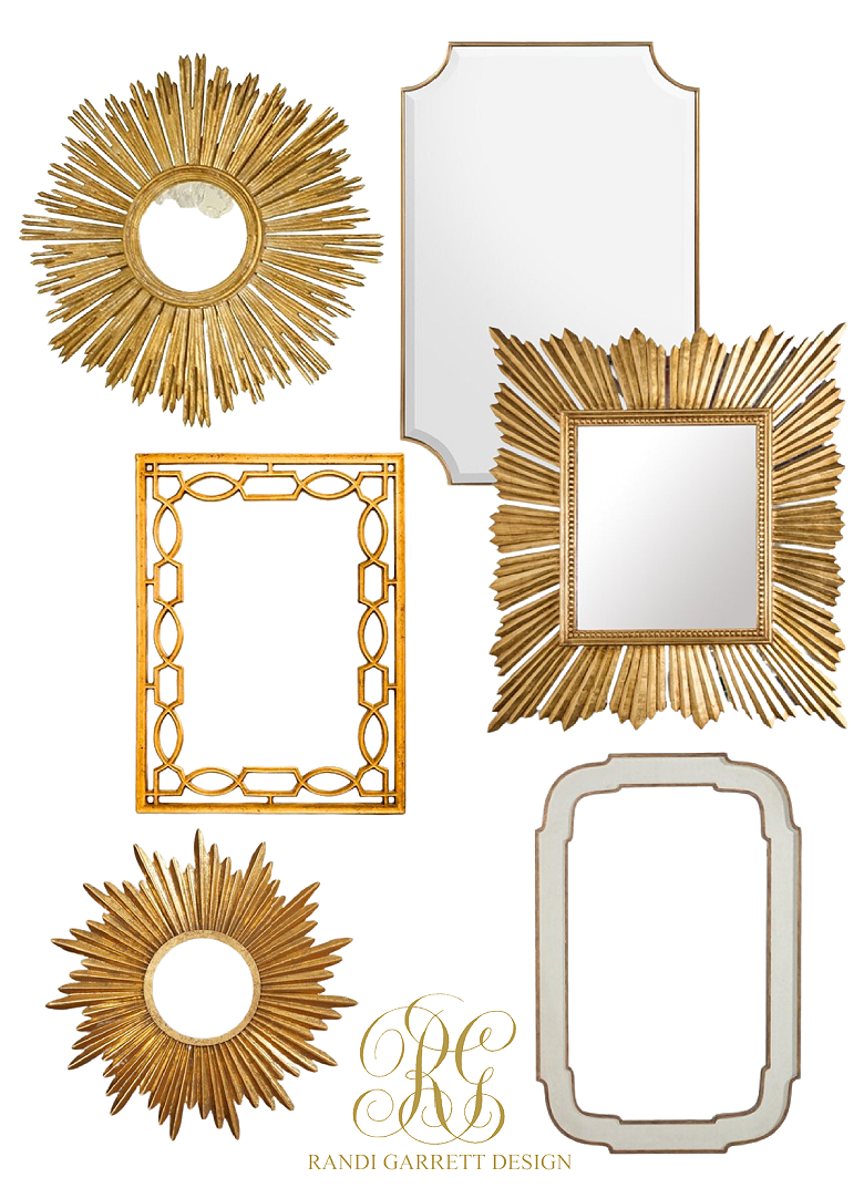 gold mirrorMy Favorite Decor Pieces