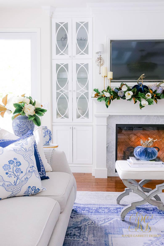 magnolia fall decor