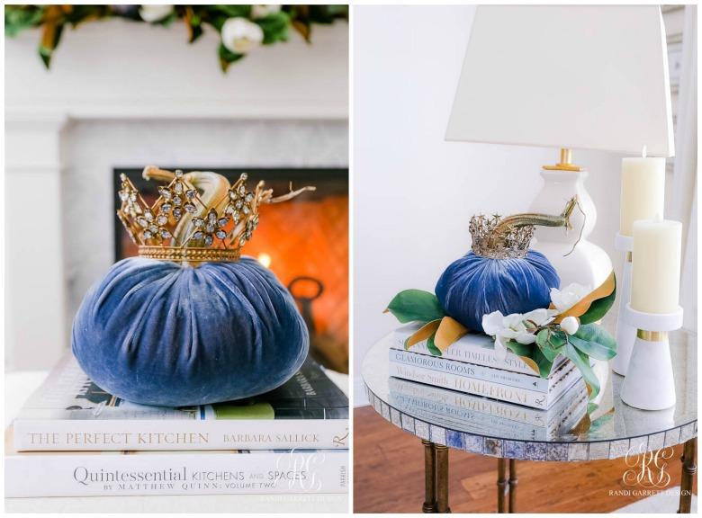 pumpkin crown fall decor