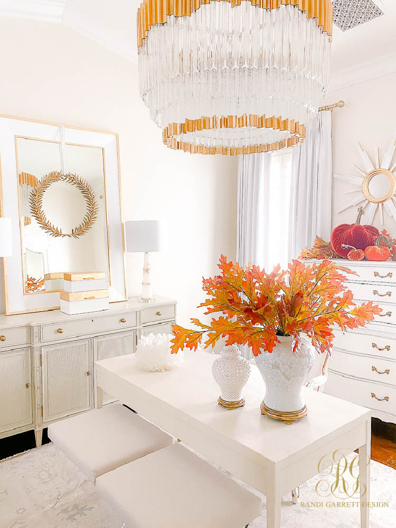 Fall Home Tour - Entry and Office