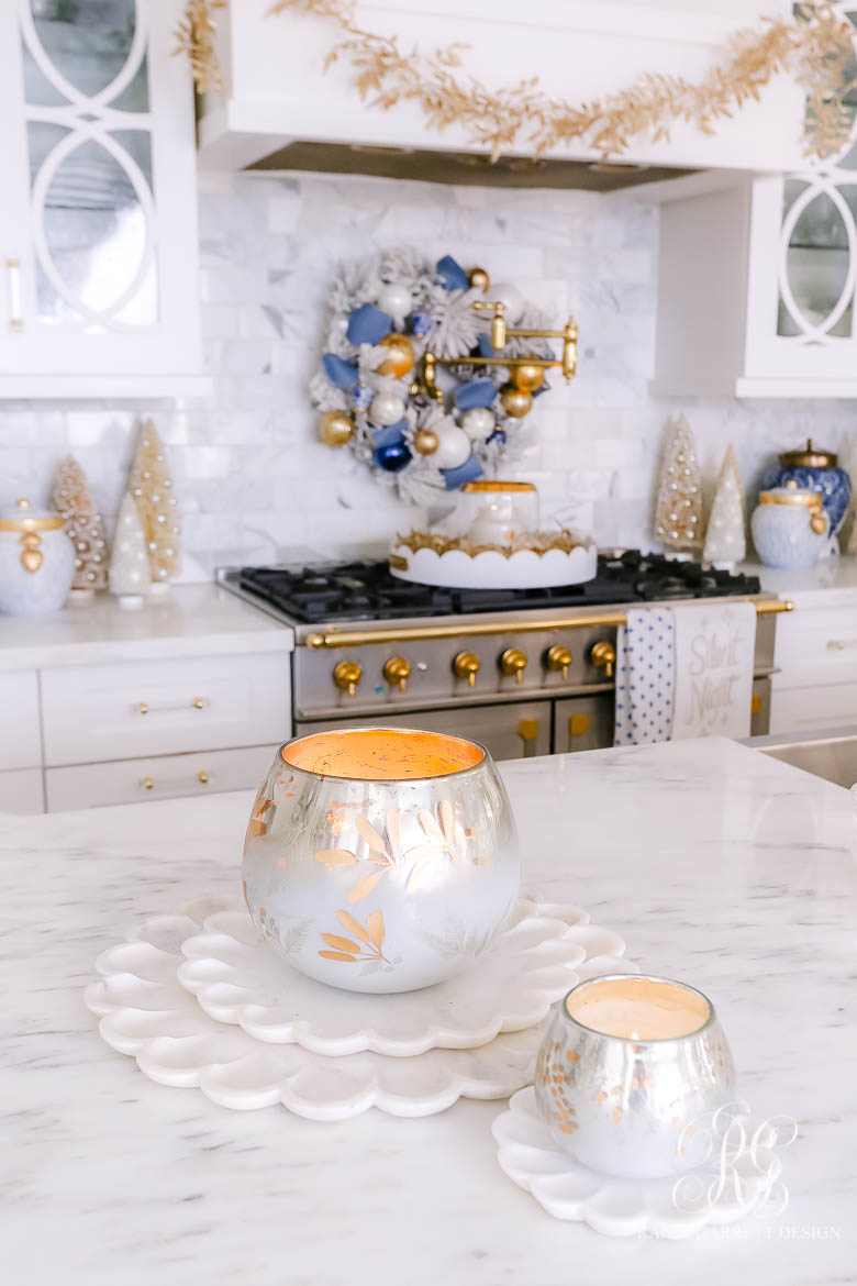 Christmas candle styling