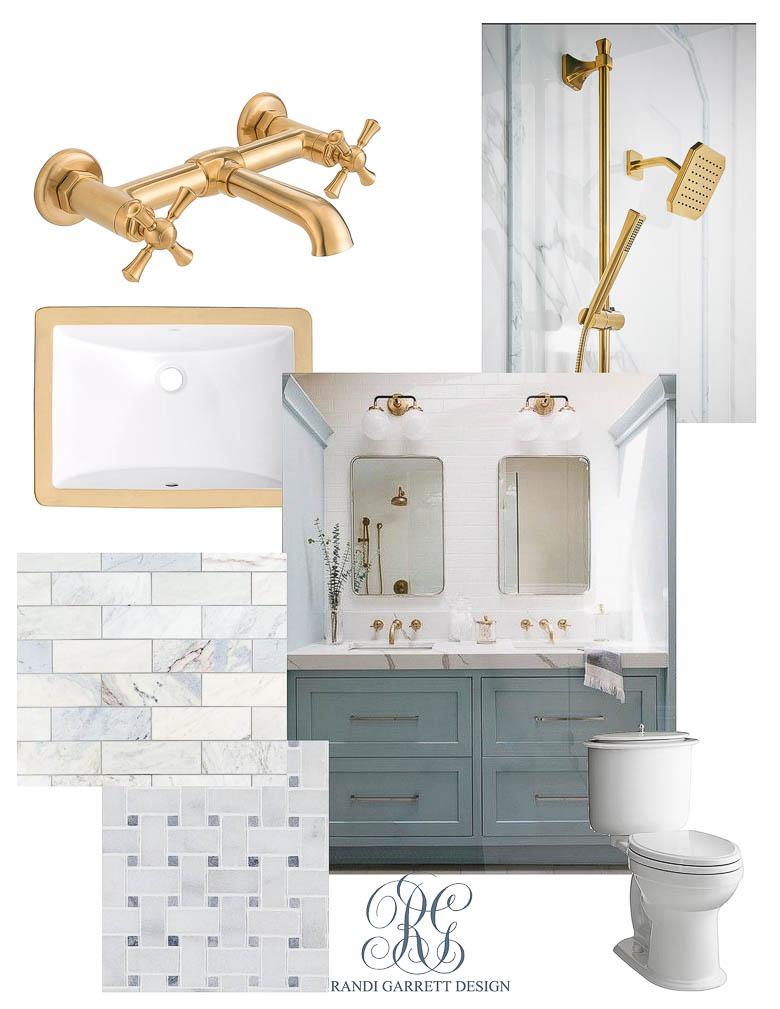 Dream House Kid's Bathroom Mood Boards