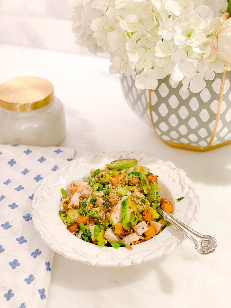the best Brussel Sprout Salad Recipe