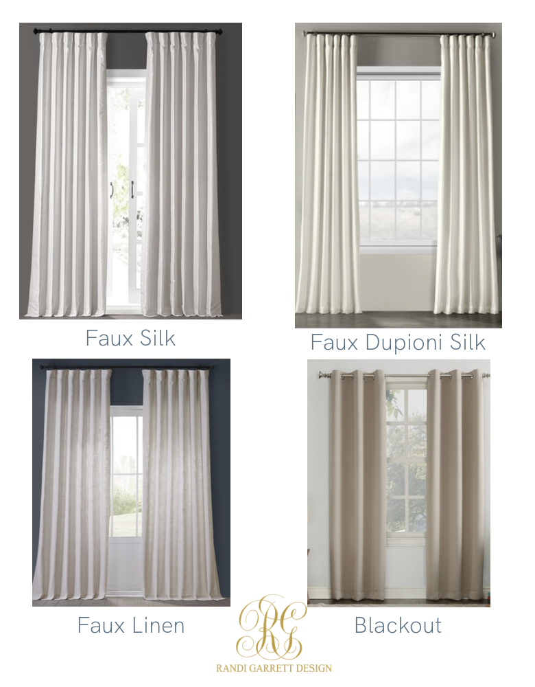 affordable drapes