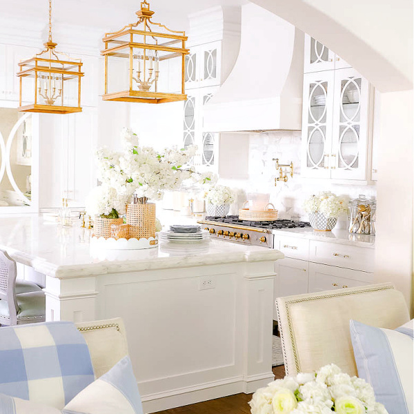 Relaxing Blue + White Spring Home Tour